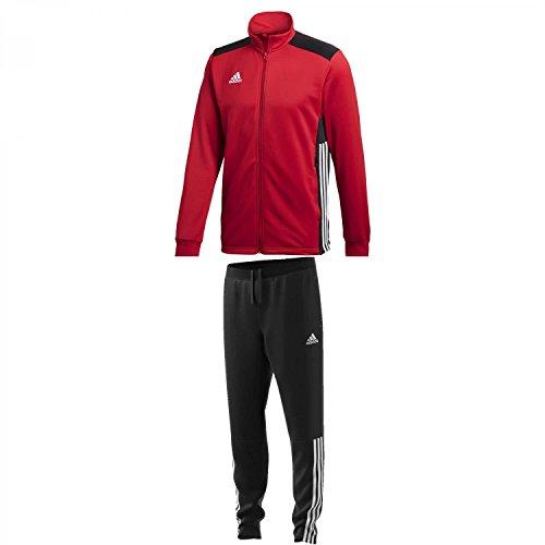 adidas Herren Trainingsanzug Sereno 11 Overall, black/white, 7, 611339