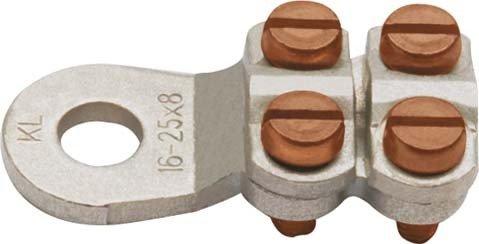 Klauke Klemmkabelschuh 585R/12 25-35qmm Schraubkabelschuh für Cu-Leiter 4012078474900