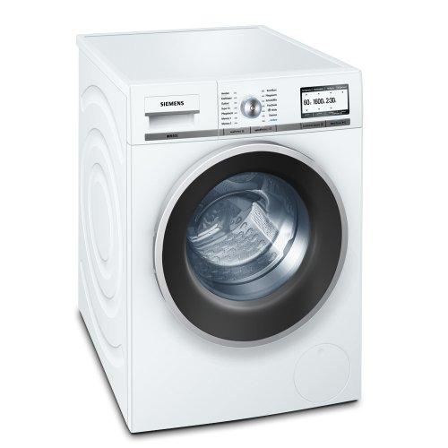 Siemens iQ800 WM16Y741 Waschmaschine Frontlader / A+++ A / 1600 UpM / 8 kg / weiß / Nachlegefunktion / varioPerfect / ecoPlus