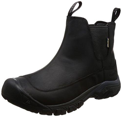 KEEN Men s Anchorage 3 Pull On Waterproof Boot, Black Raven, 11 M US