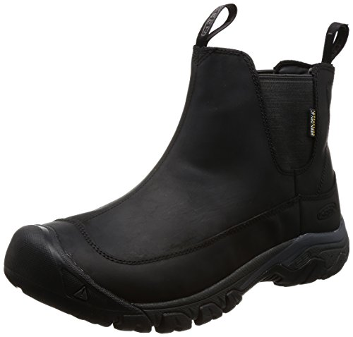 KEEN Men's Anchorage Boot iii wp-m Hiking, Black/Raven, 15 M US