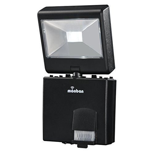 OHM monban LED 乾電池式 1灯 センサーライト LS-B114D-K