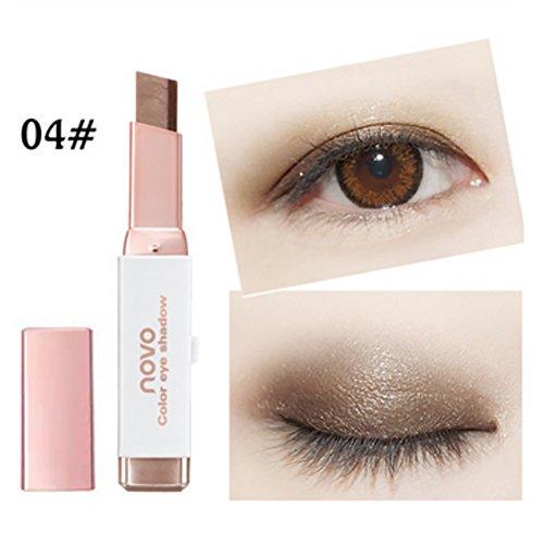 Aesyorg Zweifarbiger Lippenbiss Make-up Lippenstift Lang anhaltender feuchtigkeitsspendender, glatter Lippenstift Make-up Kosmetik
