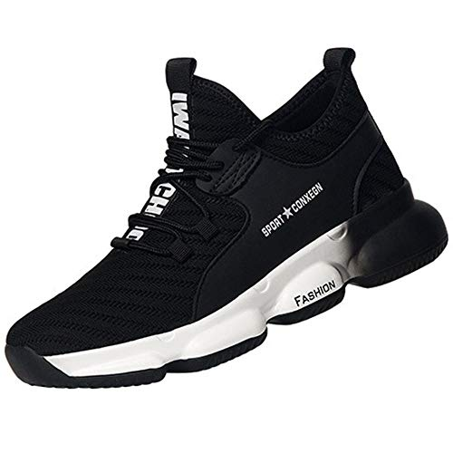 Calzado de Industrial y Deportiva,Zapatos de Trabajo Protectores antigolpes con Punta de Acero para Hombre, Antideslizantes, a prEUba de pinchazos, Botas de Seguridad, Zapatos, Zapatillas-3_41EU