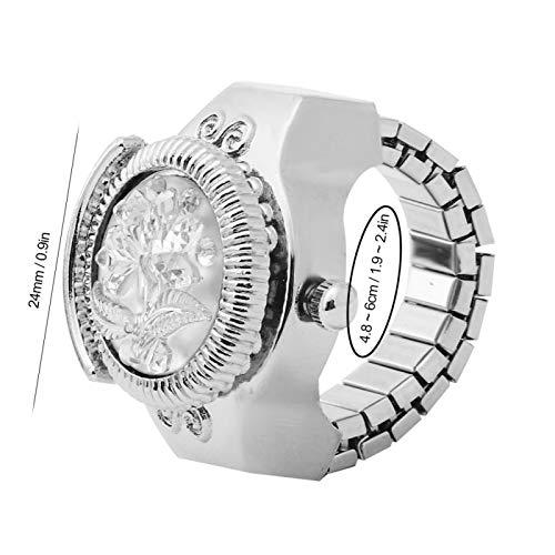 Uxsiya Reloj de cuarzo para novia para ti mismo para mamá (blanco)