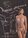 The look begins with Maidenform Chantilly bra & panty ad 1987