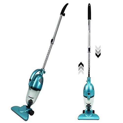 Sotech - Aspiradora 2 en 1, Aspiradora 2 en 1 Vertical y De Mano, Azul, Capacidad del Recipiente de Polvo: 1,3 L, Potencia máxima: 800 W