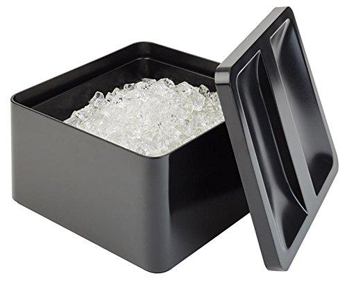 APS seau à glaçons 27 x 27 cm, H: 15 cm Box + Deckel aus SAN