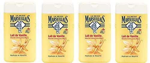 Le Petit Marseillais ducha crema Extra suave Leche de Vainilla 250ml–juego de 4