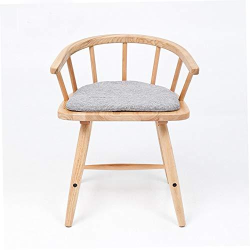 Président Chaise de Salle à Manger en Bois Massif de Paon Moderne Minimaliste, Chaise d'étude, Main Courante Nordique, Chaise de Bureau, Dossier, Chaise, Chaise Windsor 3.25