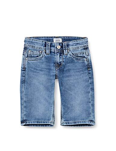 Pepe Jeans Tracker Short Bañador, Azul (000denim 000), 2-3 años (Talla del Fabricante: 2) para Niños