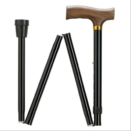 "Extra Short Folding Walking Cane adjustable in 1"" increments from 29"" to 33"" (9952312)"