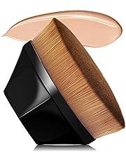 VICKSONGS Foundation Kwast, Make-up Kwast met Opbergdoos [60 g/Super Soft] Foundation Wonder Brush voor het Mengen van Vloeistof, Crème, Concealer Premium (Roze)
