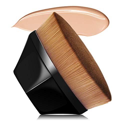 VICKSONGS Foundation Pinsel, Make Up Pinsel mit Aufbewahrungsbox [60g/Super Weich] Foundation Wonder Brush zum Mischen von Flüssigkeit, Creme, Concealer Premium