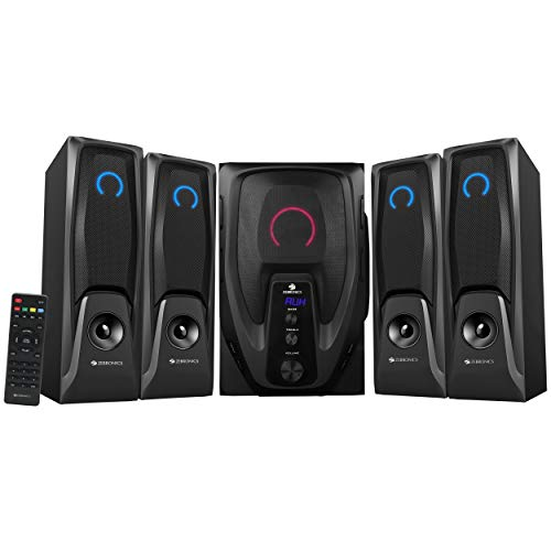 Zebronics Mambo-BT RUCF 4.1 Multimedia Speaker (Black)