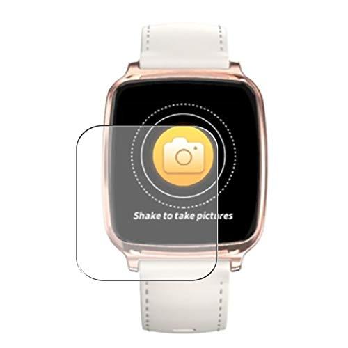 Vaxson 3 Stück Schutzfolie, kompatibel mit Smartwatch smart watch M8 1.3, Displayschutzfolie Bildschirmschutz Blasenfreies TPU Folie [nicht Panzerglas]