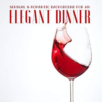 A Sensual & Romantic Background for an Elegant Dinner. Home & Restaurant