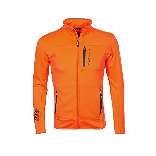 Peak Mountain - Blouson polar shell homme CANTON - orange - XXL