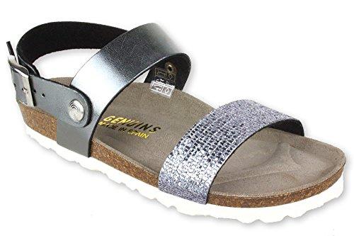 Genuins Pompei Plomo Trend Sandale Size 32 EU