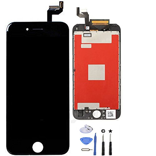 EXW LCD digitalizador & 3d Touch Screen Replacement frontal Glass with digitalizador Assembly for iPhone 6S (for iPhone 6S 4.7 Inch Screen Black)