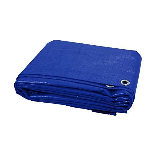 color azul 2 m x 3 m, 3 m x 4 m, 4 m x 6 m HipperTech Lona impermeable de polietileno y laminado