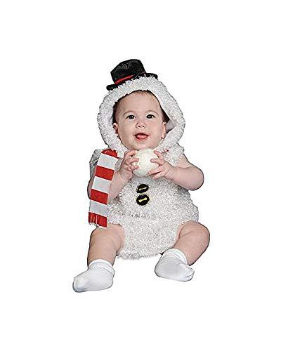 Dress Up America Costume Adorable bébé Bonhomme de neige , 12-24 mois (Poids 22-29 Lb , Hauteur 29-34 Pouces) , Multicolore , XX-Small