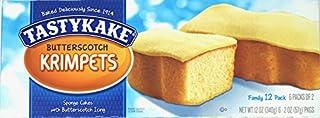 3 PACKS Tastykake Butterscotch Krimpets Tastycakes