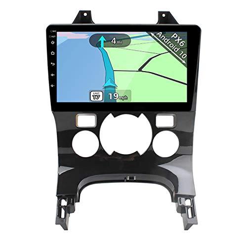 YUNTX PX6 Android 10 Autoradio Compatibile con Peugeot 3008 5008 [2009-2018] - [4G+64G] - GPS 2 Din - Telecamera Posteriore Gratuiti - Supporto DAB + / Controllo del volante /WiFi/Bluetooth/Mirrorlink