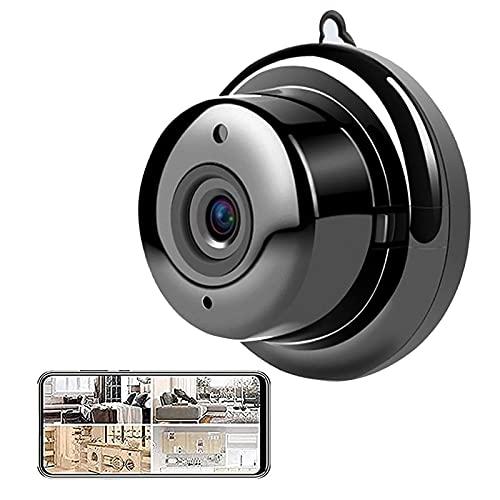 Cámara Inalámbrica IP Mini Cámara Cámara De Seguridad para El Hogar De Dos Vías Audio WiFi Visión Nocturna 1080p Cámara De Vigilancia Inalámbrica Monitor Remoto