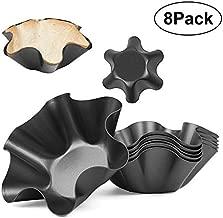 Tortilla Maker Nonstick Taco Shell Maker Salad Bowl Set of 8 Pack Perfect Tortilla Pan