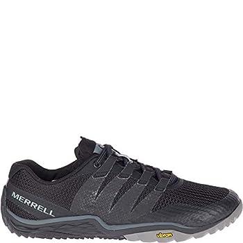 Merrell womens Trail Glove 5 fashion sneakers Black/Black 9 US