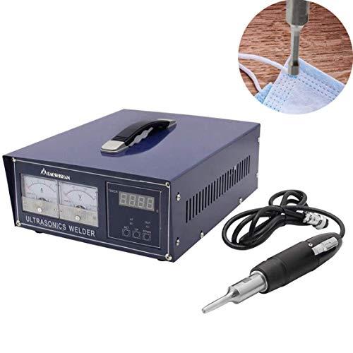 BAOSHISHAN Soldadora plástica ultrasónica de 500W Soldadora de puntos por ultrasonido Soldadora plástica portátil (28KHz para termoplástico fino)