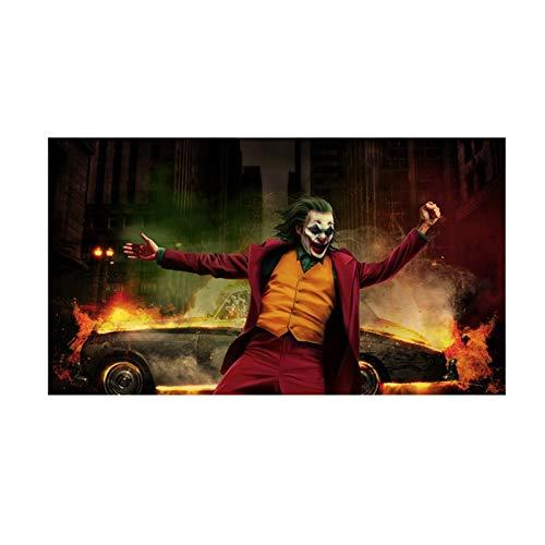 Flduod ART Joker filmposters en prints canvas schilderij kunst aan de muur voor de woonkamer slaapkamer moderne decoratieve Picture50x90cm