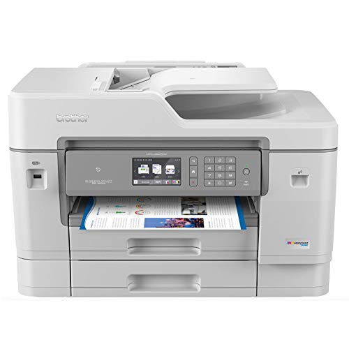Brother Inkjet Printer, MFCJ6945DW, INKvestmentTank Color Inkjet All-in-One Printer