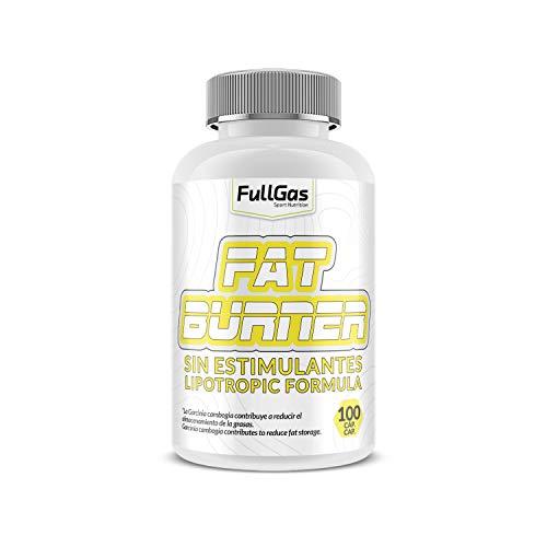 FullGas - Fat Burner SIN ESTIMULANTES 100 cáps