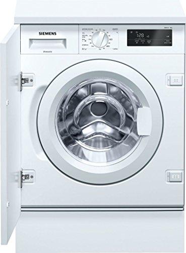 Siemens iQ500 WI12W320ES Integrado Carga frontal 8kg 1200RPM A+++ Blanco - Lavadora (Integrado, Carga frontal, Blanco, Giratorio, Tocar, Izquierda, LED)