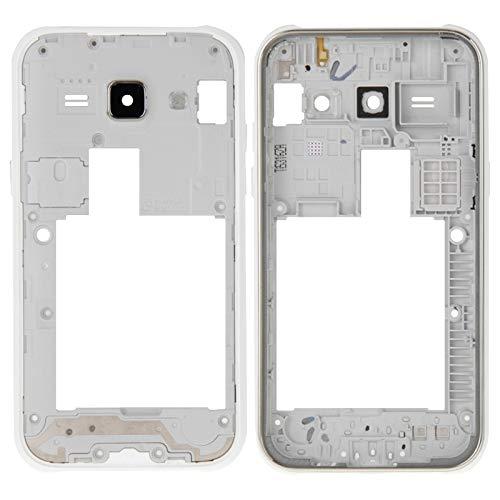 Zhangli telefoonframe frame Bazel vervanging voor Samsung Galaxy J1 / J100 brilmontuur, Wit.