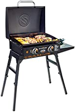 """Blackstone 22"""" Tabletop Griddle with Griddle Hood and Stand"""