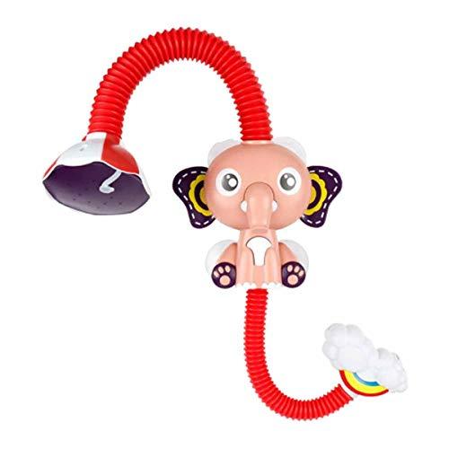 Elephant Electric Cloud Douche Jouets de Bain/Deux Enfants Bain Modes d'eau/été Bébé Jouer dans La Salle De Bain Jouets pour Le Bain Pink