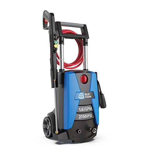 AR Blue Clean New Electric Pressure Washer 2150 PSI Power Washer, with up to 1.6 GPM, BC383HSS, Great for Car Wash/Fences/Driveway/Decks/Patio/Docks