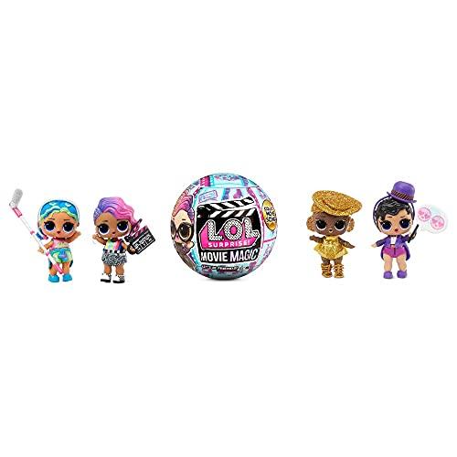 L.O.L. Surprise!- LOL Surprise Movie Magic 10 sorpresas Que Incluyen 1 muñeca, escenas de películas y Muchos Otros Accesorios-Gran Regalo para niños a Partir de 4 años (118367EUC)