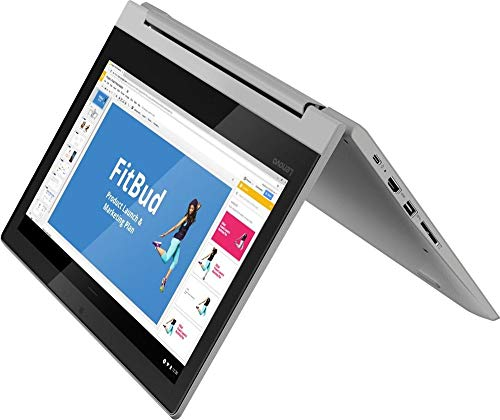 "Lenovo Chromebook Flex 3 2-in-1 Laptop Computer/ 11.6"" Convertible Touchscreen/ MediaTek MT8173C/ 4GB RAM/ 32GB eMMC/ Remote Work/ 10+ Hour Battery Life/ Grey/ Chrome OS/ iPuzzle Type-C HUB"