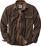 Legendary Whitetails Men's Size Journeyman Shirt Jacket, Tobacco, Large Tall