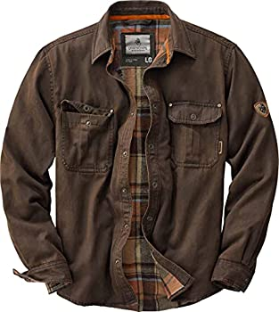Legendary Whitetails Men s Standard Journeyman Shirt Jacket Tobacco XX-Large
