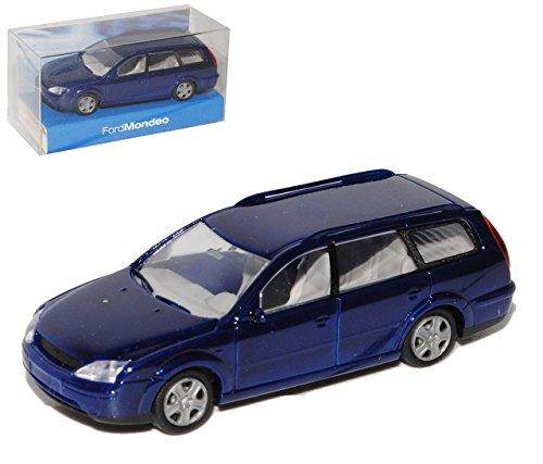 Rietze Ford Mondeo 2000-2007 Kombi Blau B4y/b5y/bwy 2. Generation Ho H0 1/87 Modellauto Modell Auto