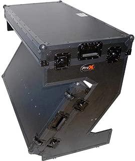 ProX XS-ZTABLEBL Portable Z-Style DJ Table Flight Case w/Handles+Wheels