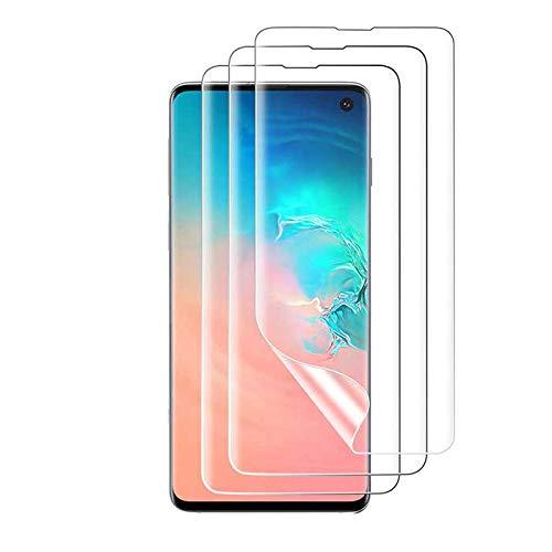Kit 3x Películas de Gel Totalmente Transparente para Novo Samsung S10