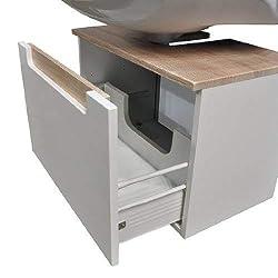 waschbeckenunterschrank h ngend im vergleich waschbeckenunterschrank holz. Black Bedroom Furniture Sets. Home Design Ideas