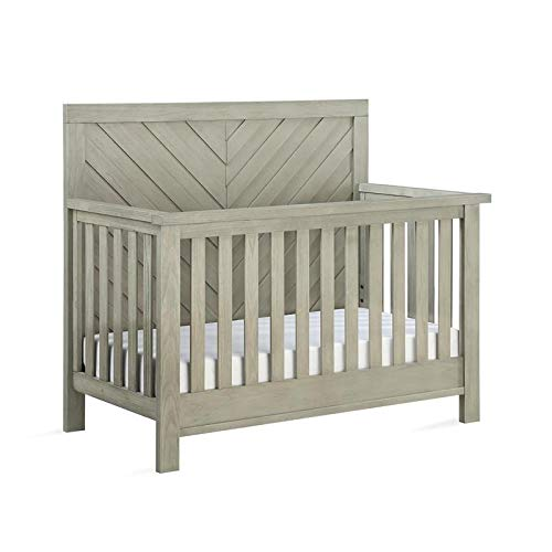 Learn More About Dorel Asia Bertini Canyon 5-in-1 Convertible Crib in Mineral Gray