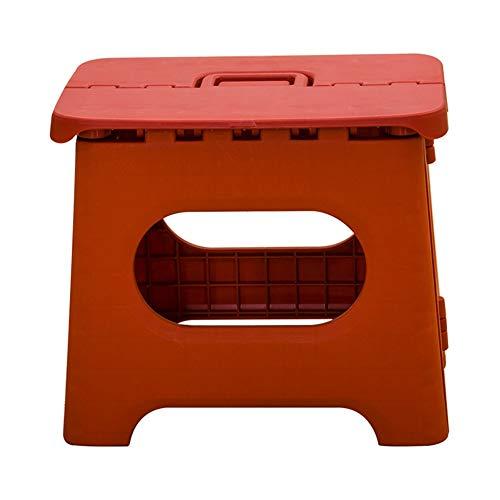 SZKP Chaise Pliante Simple de Ménage en Plastique, Tabouret Pliant, Petit Banc Portable Extérieur de Tabouret Adulte